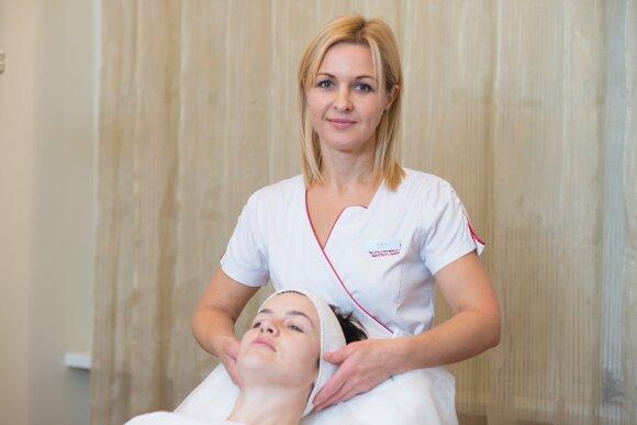 Sisteminga veido odos priežiūra ir puikus Agnės rezultatas