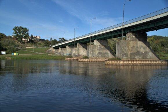 Tiltas per Nemuną ties Merkine