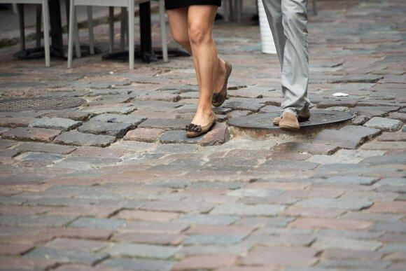 Vilniaus gatvės grindinys