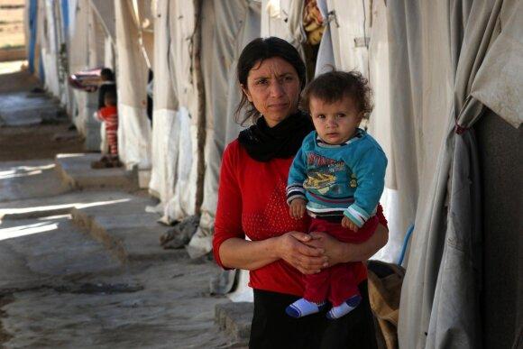 Jazidų moteris