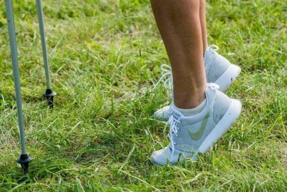Mankšta šiaurietiškojo vaikščiojimo mėgėjams