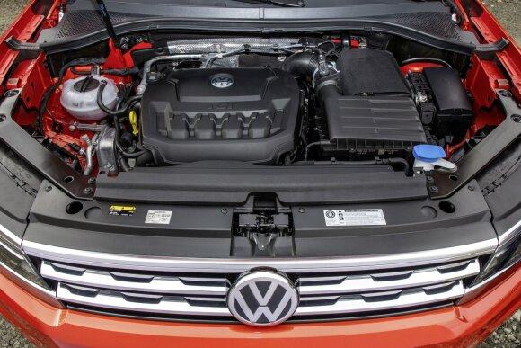 """Volkswagen Tiguan"" siūlomi su TSI ir TDI varikliais"