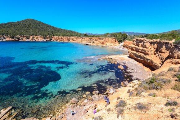 Playa Sa Caleta, Ibisa