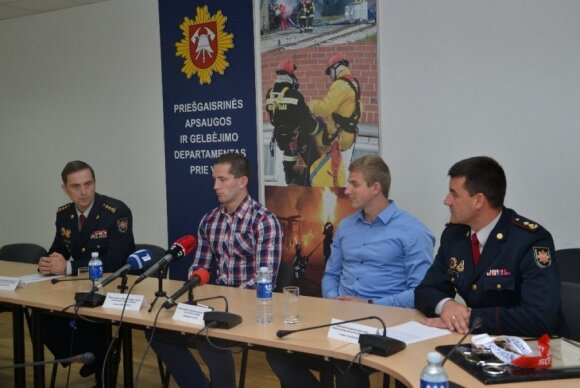 Lietuvos ugniagesiai-gelbėtojai – tarp stipriausių pasaulyje