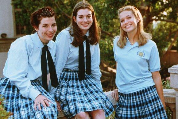 """Heather Matarazzo filme """"Princesės dienoraštis"""" (kairėje)"""