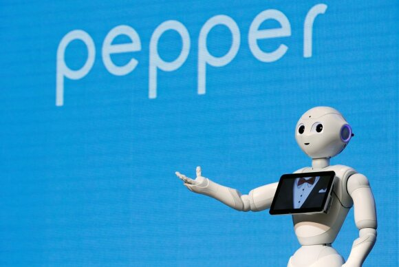"Robotas ""Pepper"""