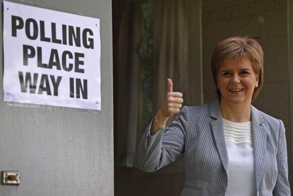 Th. May griežtai atmeta antro Škotijos nepriklausomybės referendumo galimybę