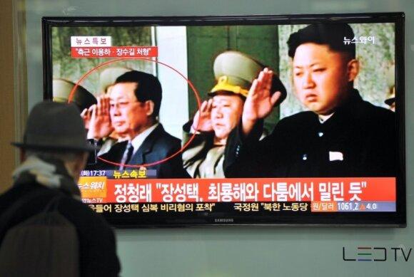 Kim Jong Unas, Jang Song Thaekas