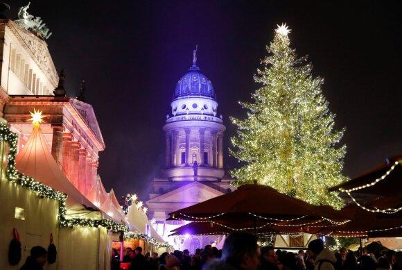 Kalėdų eglė Žandarmenmarkto aikštėje, Berlyne