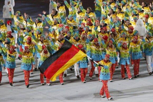 Vokietijos sportininkai