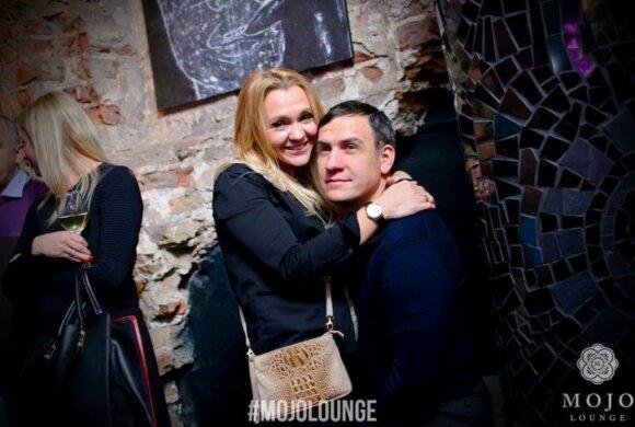 Vytautas Vaškūnas su žmona Gelija (Foto: Mojo Lounge)