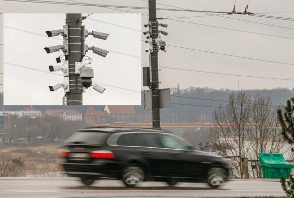 Kauną apjuosia sekimo kamerų tinklas: fiksuos ne tik KET pažeidėjų, bet ir visų automobilių numerius