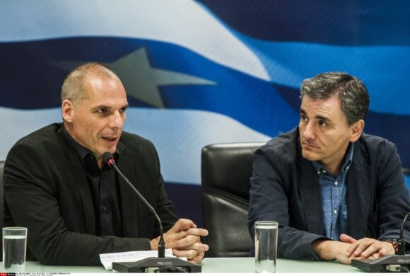 Yanis Varoufakis and Euclid Tsakalotos
