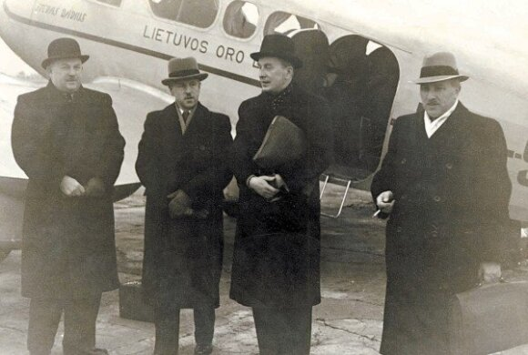 J.Norkaitis, S.Raštikis, J.Urbšys, K.Bizauskas