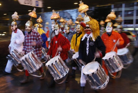 Karnavalas Šveicarijoje