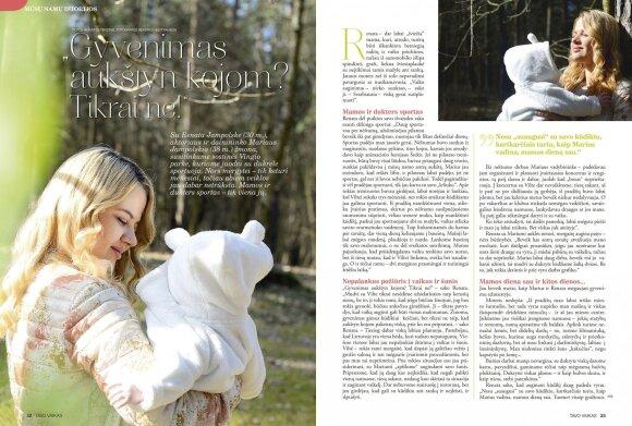 Renata Jampolskė: vaiko auginimas – nieko sunkaus