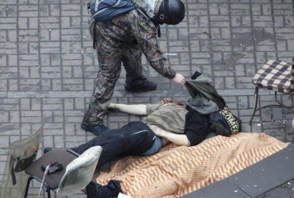 Украина: Рада запретила стрелять и обязала вернуть силовиков в казармы