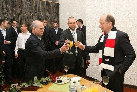 Gedvydas Vainauskas, Jonas Vainauskas ir Andrius Kubilius