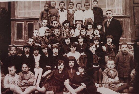 Žydų mokyklos mokiniai, 1930 m.