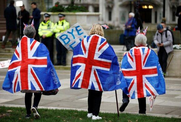 Britai mini pasitraukimą iš Europos Sąjungos