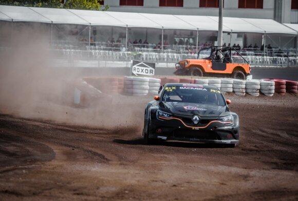"""Rokas Baciuška """"World RX"""" lenktynėse"""