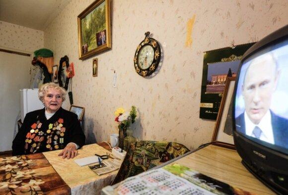 """Левада-центр"": доверие к телевидению в России снизилось на 25% за 10 лет"