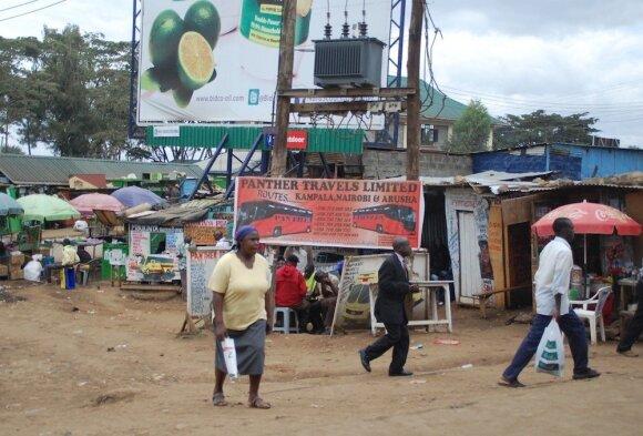 Turgus Kenijos sostinėje Nairobyje