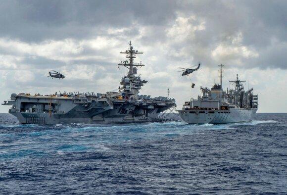Staigus Trumpo manevras: kodėl tvenkiasi naujo karo debesys ir kuo tai gali baigtis