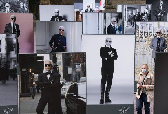 Karlo Lagerfeldo paroda