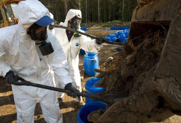 Baltarusijoje tvarkomi DDT pesticidai
