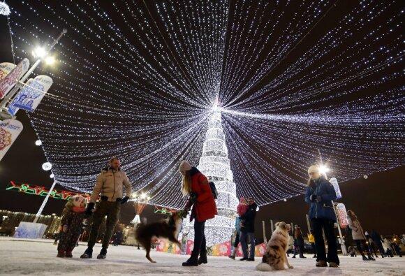 Kalėdų eglė Minske