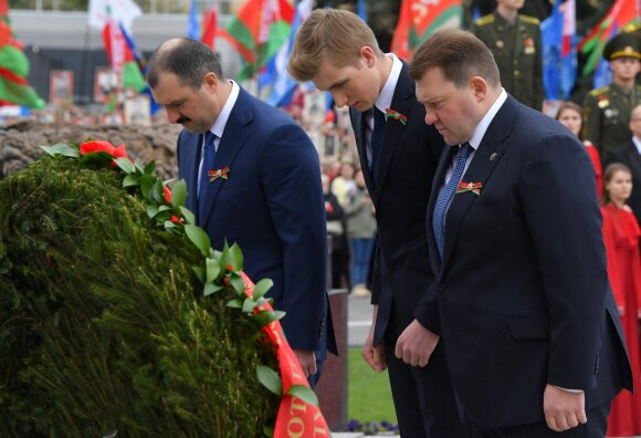 Lukašenkos sūnūs: Viktoras, Nikolajus, Dmitrijus