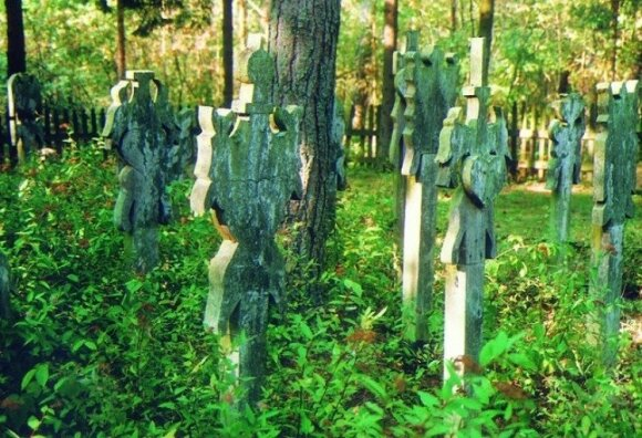 The Nida ethnographic cemetery