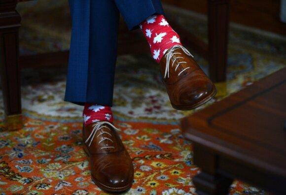 J. Trudeau kojinės