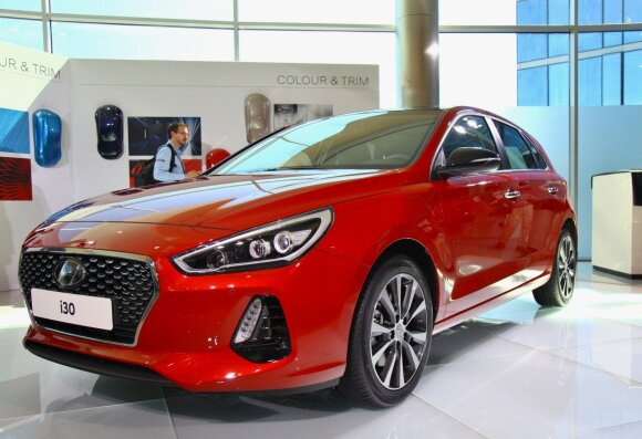 """Trečios kartos """"Hyundai i30"""""""