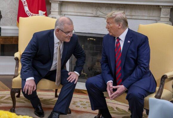 Scottas Morrisonas, Donaldas Trumpas