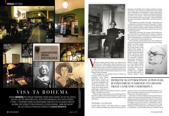 """Kažkas Krokuvą yra taikliai pavadinęs viena didele kavine. Legendinė šio miesto kavinė """"Jama Michalika"""" slepia daug aistringų, meilės ir neapykantos kupinų garsiausių lenkų menininkų vardais paženklintų istorijų"""