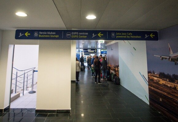 Vilniaus oro uosto rekonstrukcja // Milvydo Mažonio nuotr.