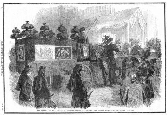 Viktorijos laikų gedėjimo tradicijos