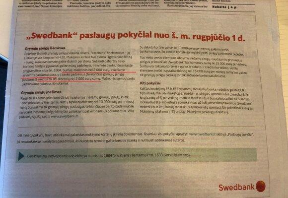 """Swedbank"" reklama"
