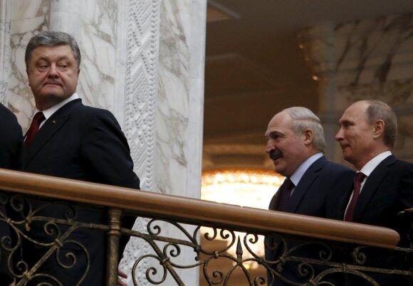Petro Porošenka, Vladimiras Putinas, Aleksandras Lukašenka