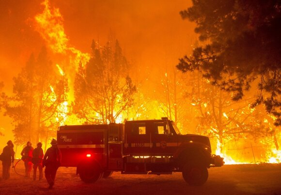 Miškų gaisrai Kalifornijoje