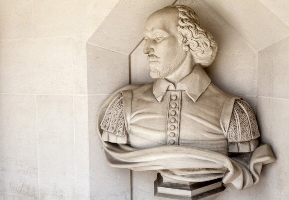 Koks buvo tikrasis V. Šekspyro veidas: turėjo meilužę, buvo biseksualus?