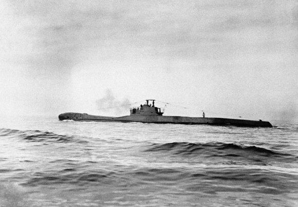 Malaizijos krantuose ieškomi dingę du per Antrąjį pasaulinį karą nuskendę povandeniniai laivai