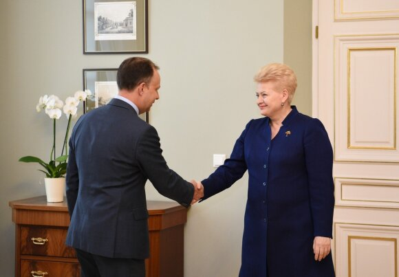 Aurelijus Veryga, Dalia Grybauskaitė