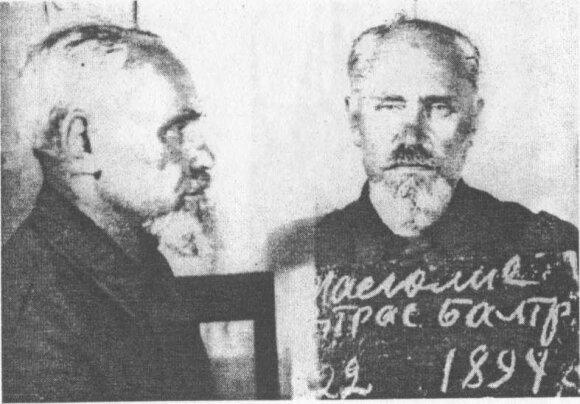"""Roko Masiulio senelis (nuotrauka iš Viktoro Ašmensko knygos """"Generolas Vėtra"""")"""