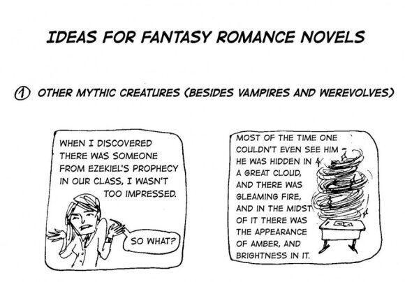 Fakin' Zeitgeist: Ideas for romance novels