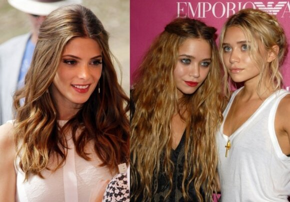 Ashley Greene, Mary-Kate Olsen ir Ashley Olsen