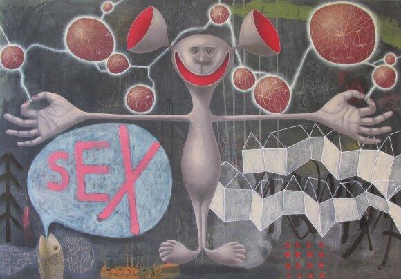 """Andrius Miežis. """"Ačiū Dievui už seksą ir Saulės sistemą"""" (2014)"""