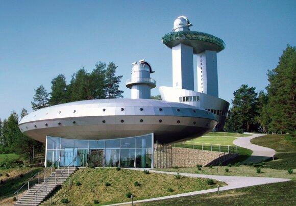Etnokosmologijos muziejuje nusileidę nauji kosminiai aparatai sulaukė milžiniško susidomėjimo